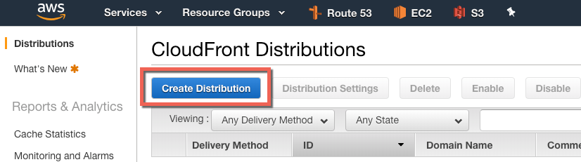 Setting up AWS CloudFront to Make WordPress Load Faster